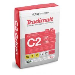 C2 Grigio 25+2,5kg ADESIVO CEMENTIZIO