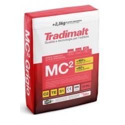 MC2 Grigio 25+2,5kg ADESIVO CEMENTIZIO