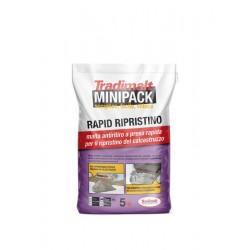 Rapid Ripristino 5kg  Malta Strutturale Classe R4 MiniPack