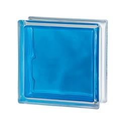 VETROMATTONE  BRILLY 1919/8 WAVE VE Colore:  BLUE           *SOLO per INTERNO*