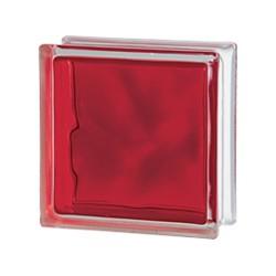 VETROMATTONE  BRILLY 1919/8 WAVE VE Colore:  RED            *SOLO per INTERNO*