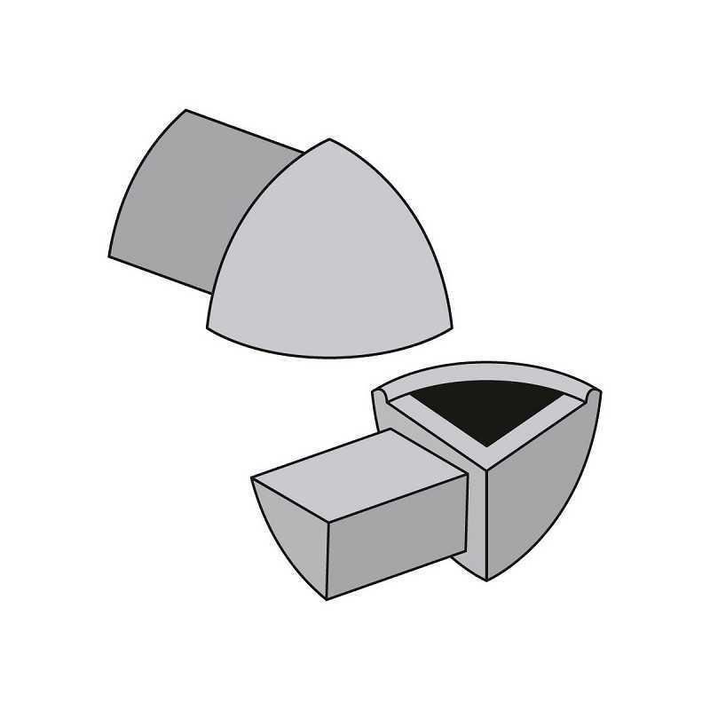 Angolo Esterno 12mm in PVC...