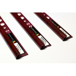PROFILO in PVC ARROTONDATO 10mm Colore:  ROSSO MARMO (61) Lunghezza MT: 2,50