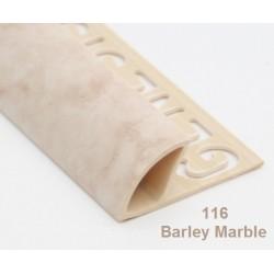 PROFILO in PVC ARROTONDATO 10mmColore:  MARMO VENEZIANO (116)Lunghezza MT: 2,50