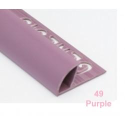 PROFILO in PVC ARROTONDATO 10mmColore:  PURPLE (49)Lunghezza MT: 2,50