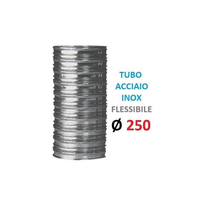 TUBO FLESSIBILE INOX Ø...