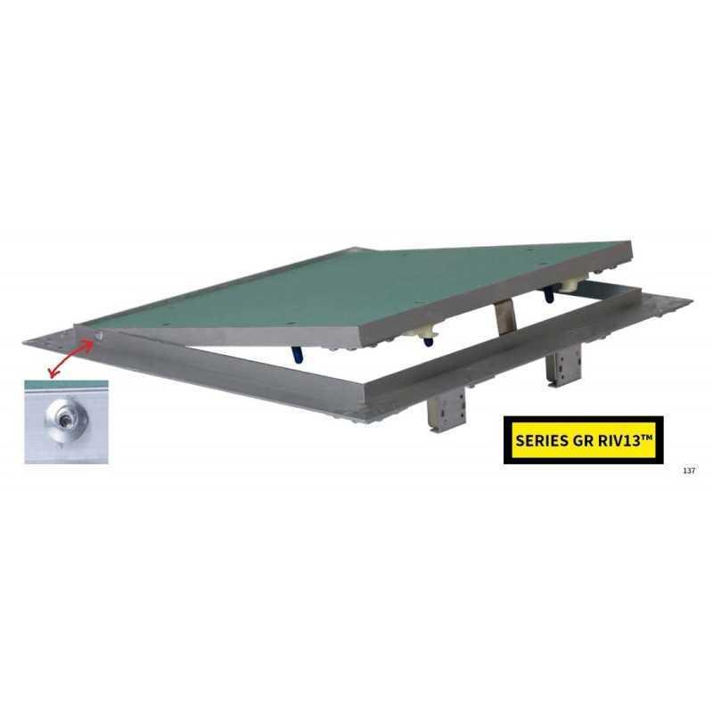LASTRA in CartonGesso (Verde) GKI H13 KNAUF Misure: cm 120x200 Sp.12,5mm (IDROLastra/AntiUmido)