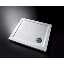 PIATTO DOCCIA QUADRATO Misure: 80x80  H  5,5 (ITO) Colore:  WHITE (BIANCO)